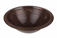 Eduarda - round copper sink form Mexico