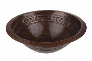 Estela - Mexican round copper sink