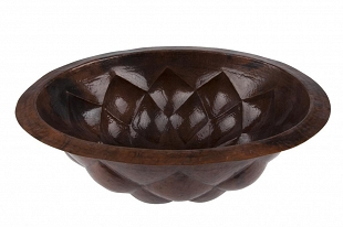 Feliciana - oval Mexican basin from copper