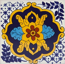 Cortina - 30 Talavera tiles