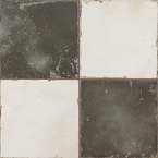 Peronda Damero  - black & white ceramic tiles