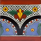 Rita - Talavera Tiles - 30 painted tiles