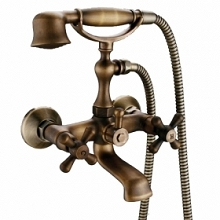 Faustina - Antique Centerset Bathroom Faucet