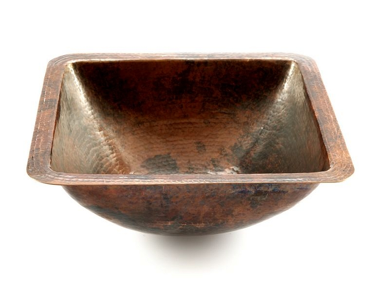 Mexican Kitchen Sink  Copper sink Modesta # Wasbak Zink_174951