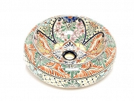 Ava - Colorful Talavera Vessel Sink from Mexico