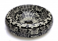 Serena - Black Counter Top Basin from Mexico