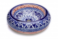 Letitia - Blue Mexican Counter Top Sink