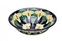 Calia - Navy Blue Vessel Sink from Mexico