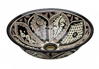 Atalaya - Black Vessel Sink from Mexico