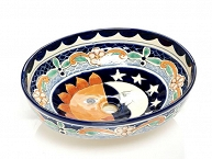 Bibiana - Colorful Vessel Sink from Mexico