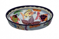Delmar - Colorful Vessel Sink from Mexico