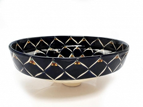 Benedetta - Blacka Mexican Vessel Sink