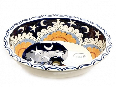Ora - Talavera sink from Mexico