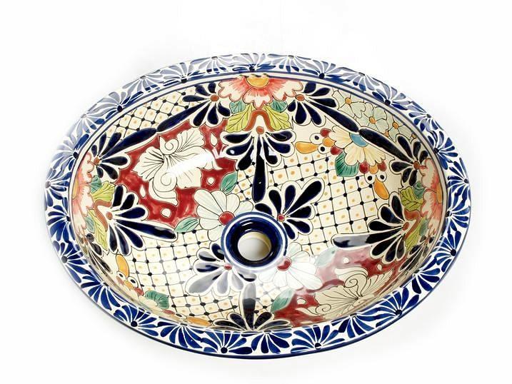 Jacinta   Mexican Pottery Sink