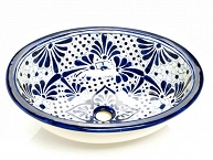 Jimena - Blue Mexican Ceramic Sink