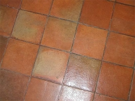 Floor tiles -  old terracotta