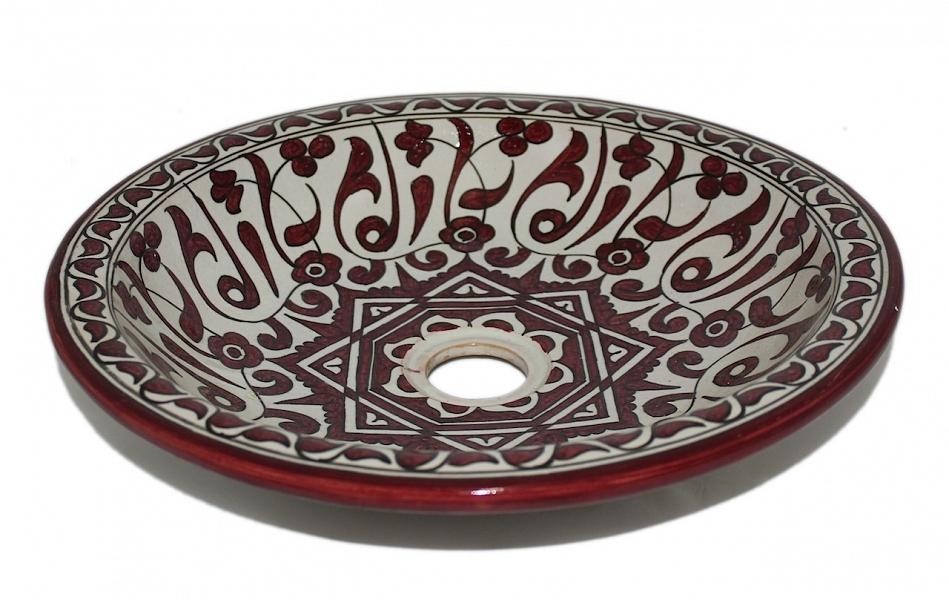 Vessel Sinks. Moroccan Pottery Sinks