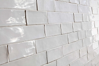 Poitiers White - Ceramic white tiles