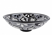 Atalaya - black mexican spherical counter top sink