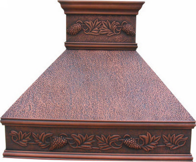 Copper Vent Hoods Colours Of Mexico