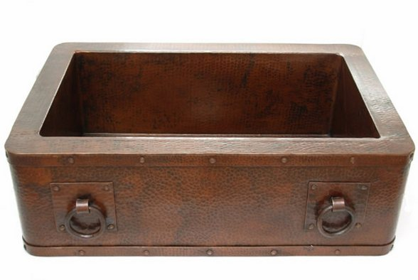 Kitchen Copper sinks - Mexican sinks, tiles and copper sinks Colours ...