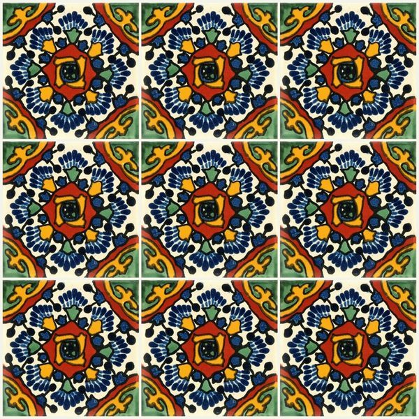 Mexican Tile Patterns Colours Of Mexico