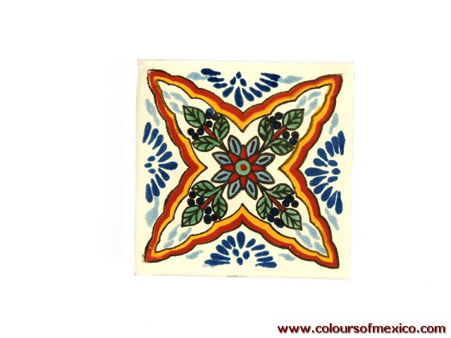 mexikanische fliesen handbemalte keramik fliesen aus mexiko colours of mexico colours of mexico. Black Bedroom Furniture Sets. Home Design Ideas