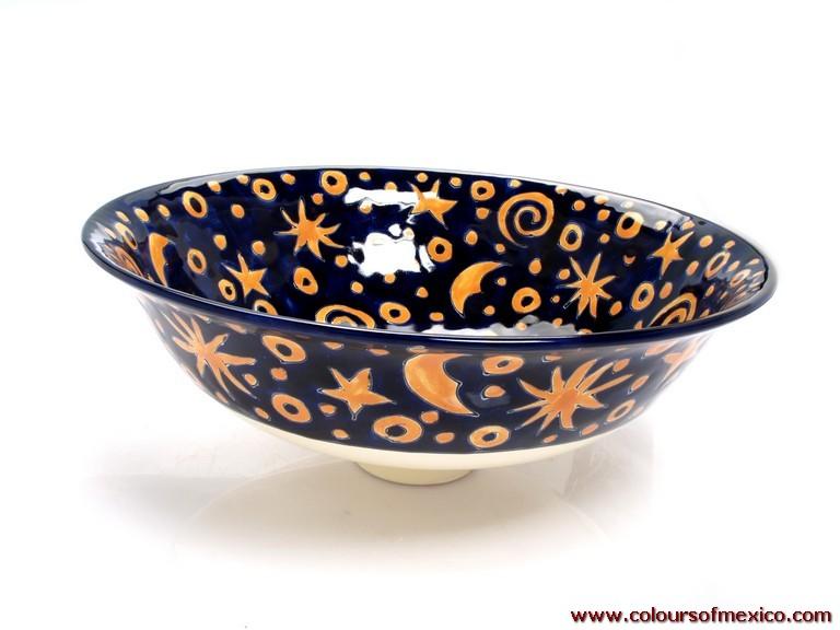 Mexikanische waschbecken keramik waschbecken for Mexikanische dekoration