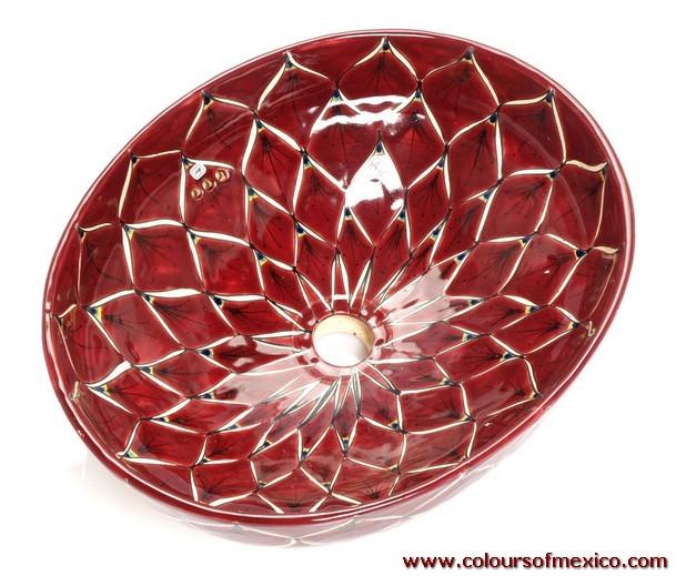 mexikanische waschbecken keramik waschbecken waschschalen fliesen aus mexiko colours of mexico. Black Bedroom Furniture Sets. Home Design Ideas