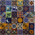 Saburo - Set of 30 tile designs - 120 tiles 5x5 cm