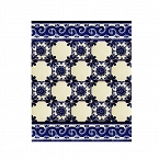 Mirta-Set of Mexican tiles with a border