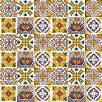 Sergio - Set of six tile designs with relief - 30 Tiles