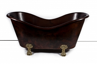 Gloria - Clawfoot copper bathtub