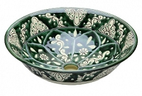 Baila - Green Mexican Vessel Basin