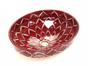 Infierna - Red Mexican Vessel Sink