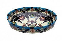 La Reina - Blue Mexican Vessel Sink