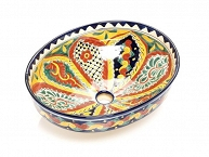 Belita - Colorful Mexican Vessel Sink