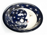 La Luna - Navy Blue Vanity Sink
