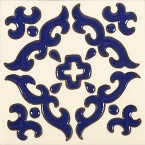Enrica - 30 Talavera tiles  with relief