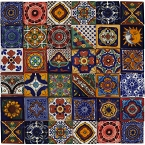 Salazar - Set of 30 tile designs - 120 tiles 5x5 cm