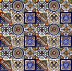 Set of six tile designs - 30 Tiles
