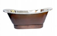 Perlita - Nickel plated copper Bathtubs